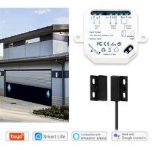 Tuya smart life сенсор для гаражной двери открывалка контроллер
