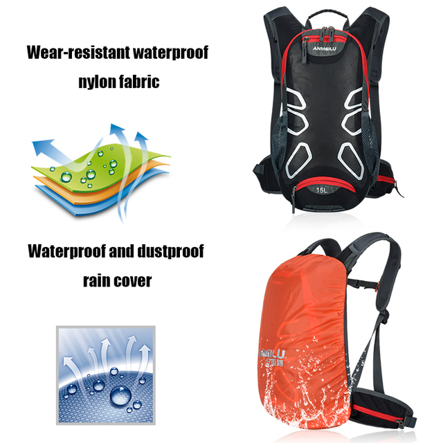 Outdoor sports  Hydration Backpack Backpack Ultralight Sport MTB Equitation of the Bicycle  Cycle Backpack water bag 5