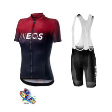 Cycling Jersey INEOS Aleing Ropa Ciclismo Mujer Clothing Women Kit Short Sleeve Mtb Maillot Set