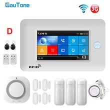 Система сигнализации gautone pg106 wifi + gsm беспроводная домашняя