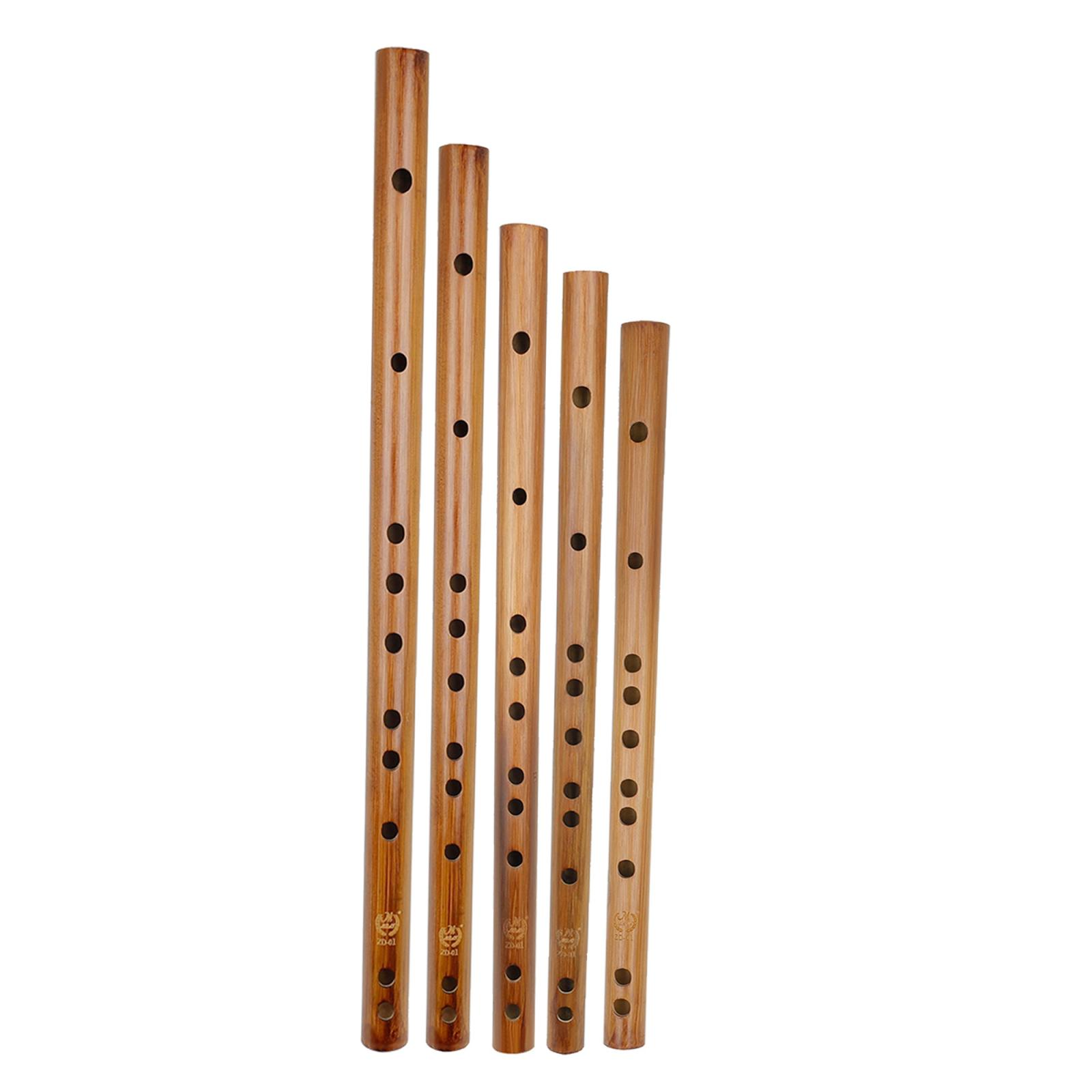 Indian Wooden Bamboo Flute Musical Instrument Recorder Kids Birthday Gift