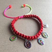Оптовая продажа четки на веревке детские Девы guadalupe bacelet/шнур