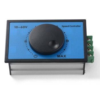 цена на DC 10-60V 12V 24V 48V 20A PWM DC Motor Speed Controller Soft Start Switch TE1255