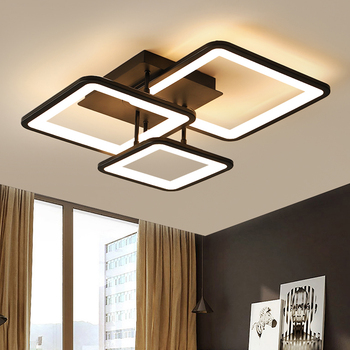LED Chandelier Modern Ceiling chandeliers Lighting For Living Room Bedroom kitchen Lustre With Remote Control Light Fixtures 1
