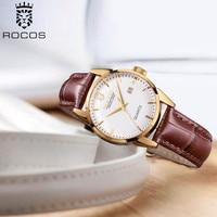 ROCOS Women's Quartz Watch Movement Women Watches Top Brand Luxury 2020 Fashion Simple Classic Dress WristWatches R0101L