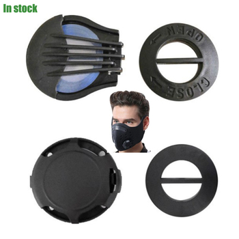 10/20/50pcs Anti-dust Mask Valves Anti Haze Air Pollution Breathing Carbon Mask Breathing Filter Valve for Adult with Gasket