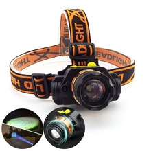 Light Torches Battery-Lamp Headlamp-Zoom-Headlight Frontal-Head Camping Mini Q5 XPE Led