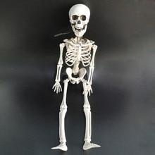 Halloween skeleton for ghost house secret room escape simulation skull hanging pendant 1pc