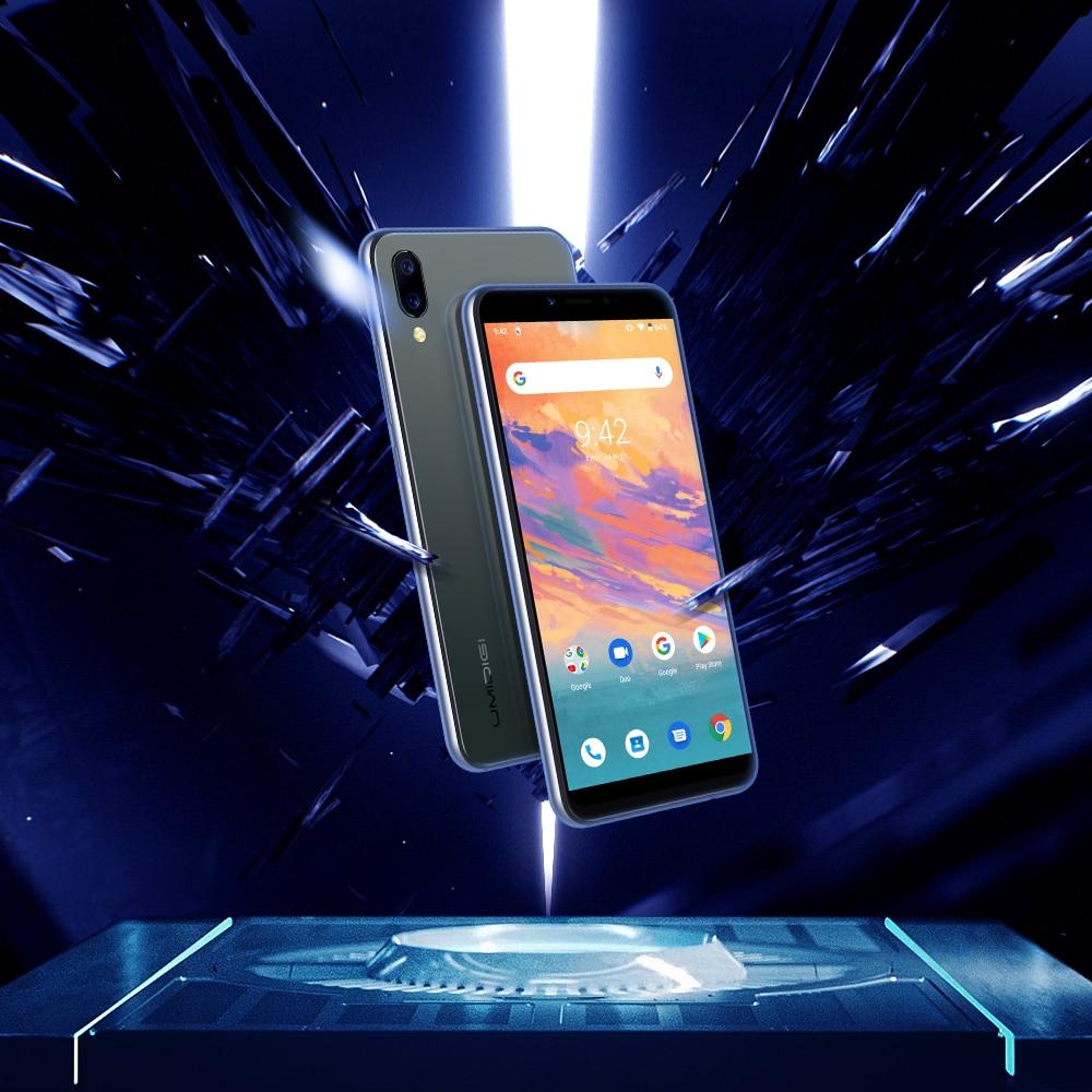 "UMIDIGI A3S Android 10 Global Band 3950mAh Dual Rear Camera  5.7"" Smartphone 13MP Selfie Triple Slots Dual 4G VoLTE Celular 4"
