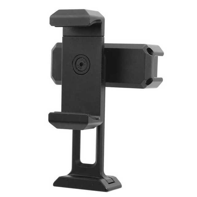 울란지 ST 18 360 회전 듀얼 클램프 스탠드 클립 브래킷 라이브 스트리밍 전화 클램프