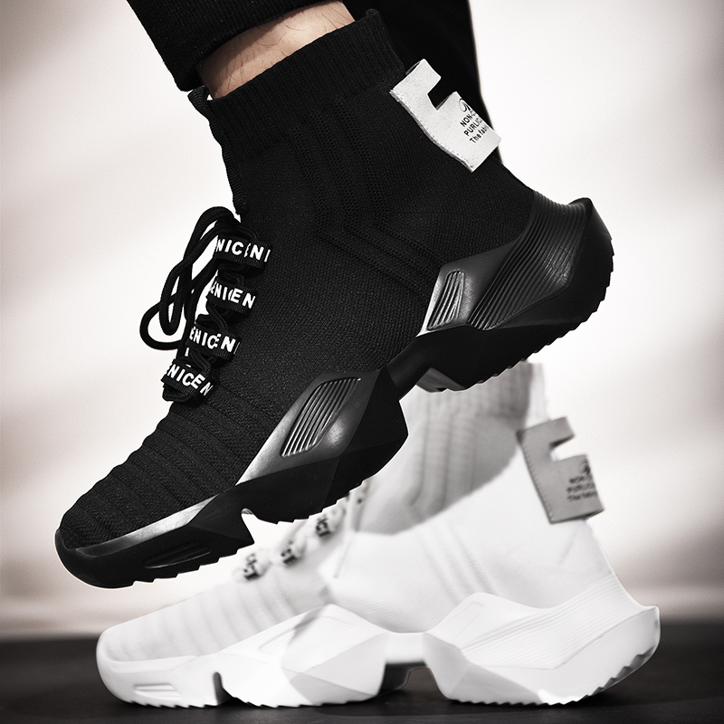 Dam yuan Men's Retro Sock Sneakers Chunky Men Shoes Breathable Men  1