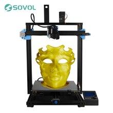 Sovol sv03 impressora 3d atualizar maior tamanho de impressão 350x350x400mm extrusora de acionamento direto da impressora bltouch silentboard pré-instalado