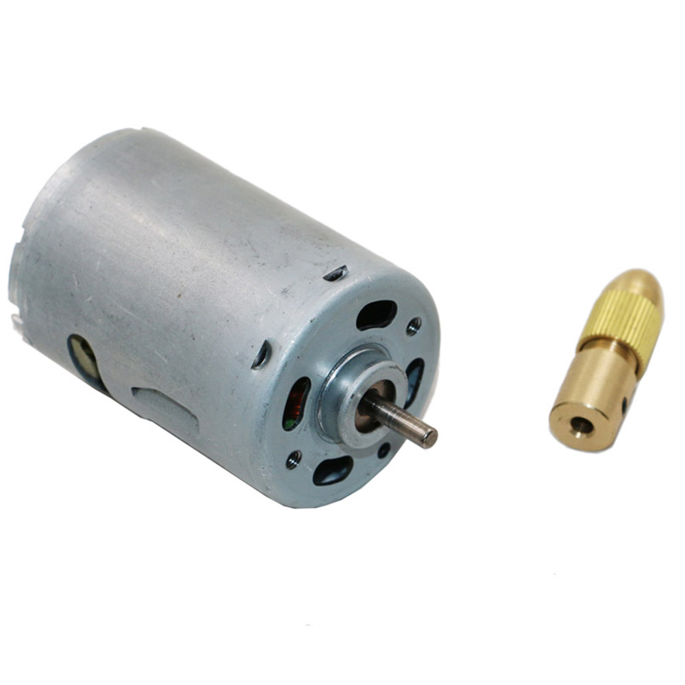 7pc Mini Electric Brass Drill Bit Collet 0.5-3mm Self Tightening Drill Chuck Set Handworking Wrench
