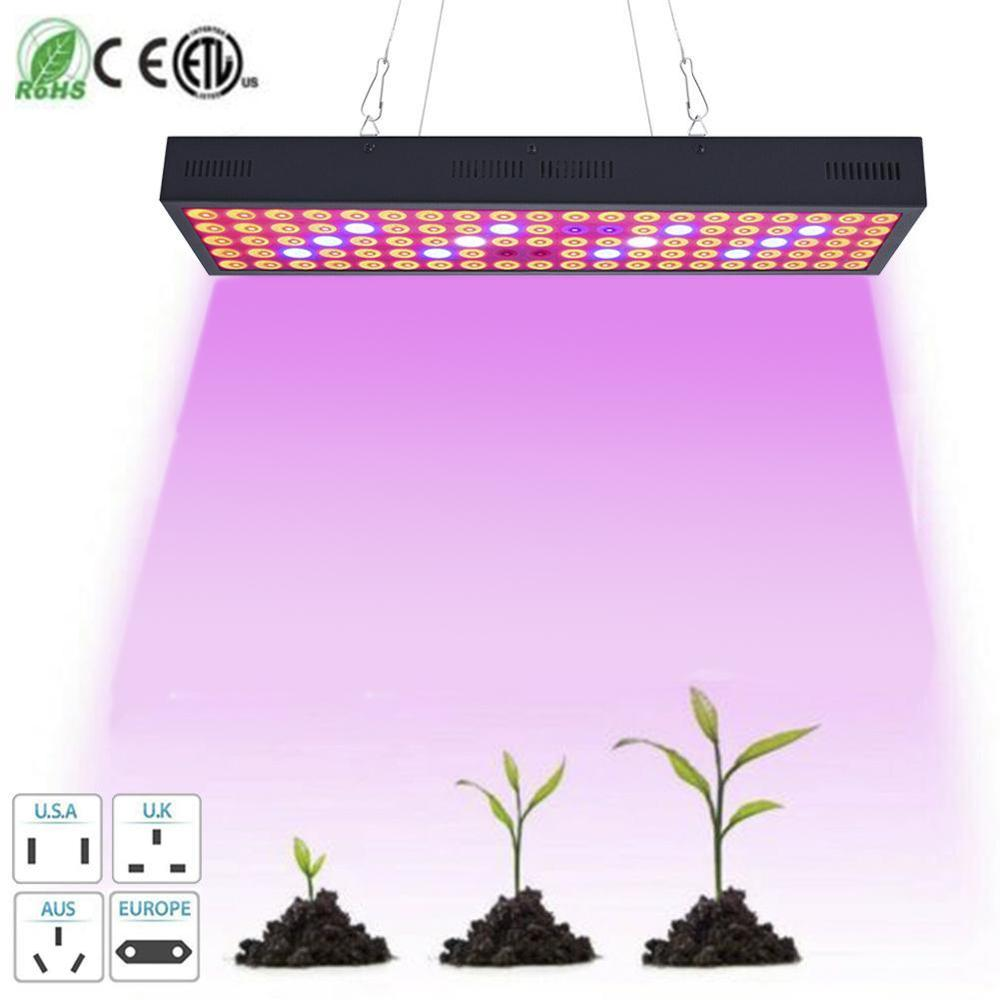 <font><b>3000W</b></font> <font><b>LED</b></font> <font><b>Grow</b></font> <font><b>Light</b></font> Panel Power Saving <font><b>Light</b></font> Suitable For Plant Growing Flower Growing Full Spectrum Plant Growing image