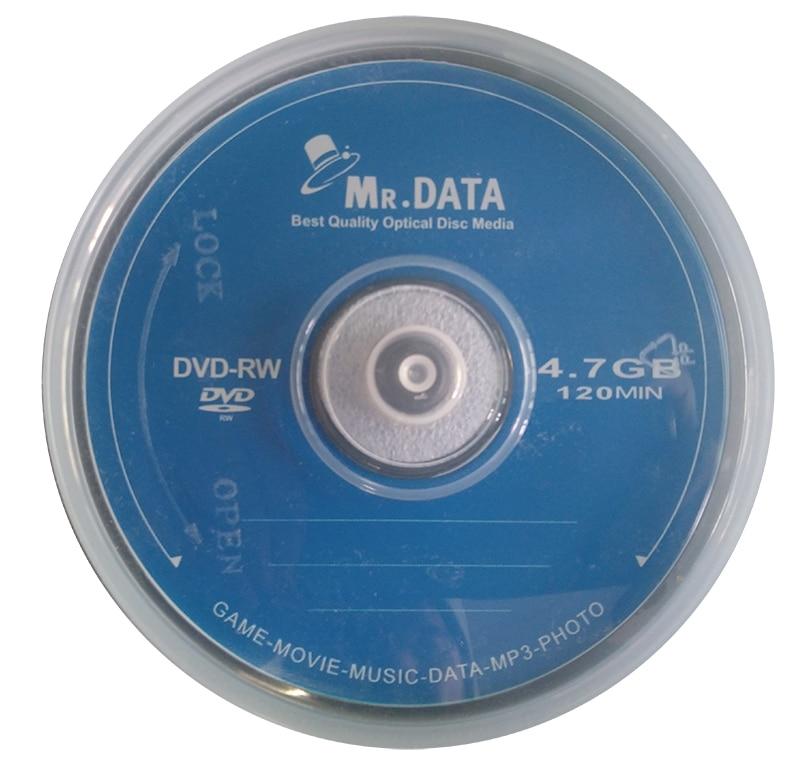 Rewritable DVD-RW 4.7GB 4X 50pcs/lot Free Shipping