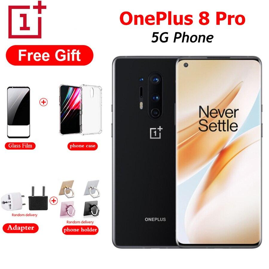 OnePlus 8 Pro 5G Mobile Phone Dual SIM 8G/12G RAM 128/256G ROM Snapdragon865 6.78