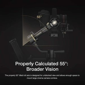 Image 4 - Zhiyun Crane 3S/Se 3 Axis Gimbal Handheld Stabilizer Ondersteuning 6.5Kg Dslr Camera Camcorder Video Camera S voor Nikon Canon
