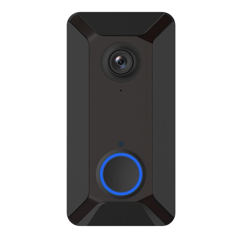 Smart Wireless Wifi Video Doorbell Intercom Phone Call Door Bell Camera Infrared Remote Record Home Security Monitoring
