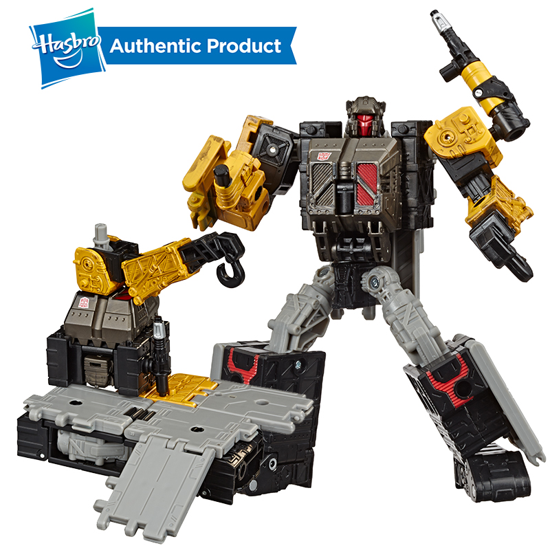 Hasbro Transformers Toys Generations War For Cybertron: Earthrise Deluxe Wfc-E8 Ironworks Modulator Action Figure 5.5 Inch