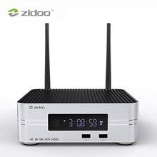 Zidoo reproductor multimedia Z10 4K HDD de hasta 10TB, 2G, DDR, 16G, decodificador inteligente eMMC, UHD de 10 bits, automático, framate, conmutación SDR a HDR