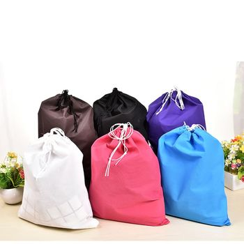 40*30cm Nonwovens Storage bag Dust Bag Handbag Travel Sundries Storage Travel Shoes Laundry Lingerie Makeup Bag