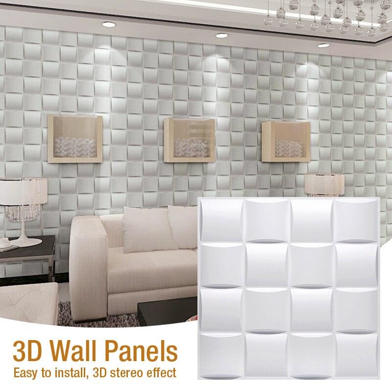 30x30cm 3d Fliesen Panel Form Gips Wand 3d Wand Aufkleber Wohnzimmer Tapete Wandbild Wasserdicht 3d Wand Aufkleber Bad Kuche Wandaufkleber Aliexpress