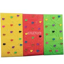 238*118 см детская скалолазальная стена Инженерная пластиковая внутренняя/наружная детская площадка большая скалолазание тренировочная стена