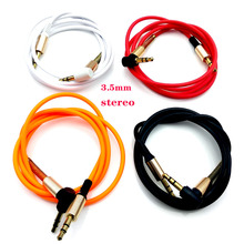 AUX Cable Jack 3.5mm Audio Cable 3.5 mm Jack Speaker Cable for JBL Headphones Car AUX Cord  audio cable 90 degree jack цена и фото
