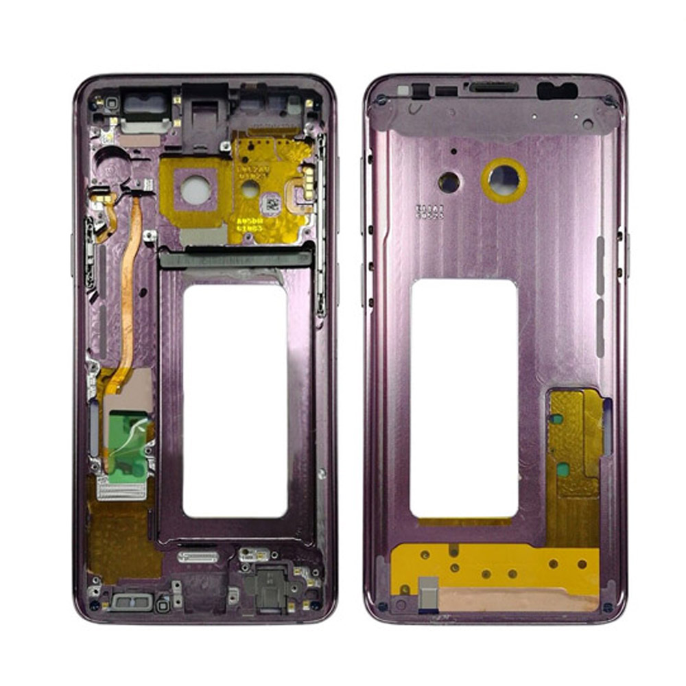 5Pcs/lot For Samsung Galaxy S9+ S9 Plus G960f G965F Housing LCD Display Middle Frame Midframe Bezel Chassis Plate-in Mobile Phone Housings & Frames from Cellphones & Telecommunications    2