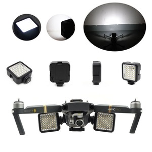 Image 2 - Soporte de hebilla para Dron DJI Mavic Pro Platinum, pieza de vuelo nocturno, luz LED, accesorios