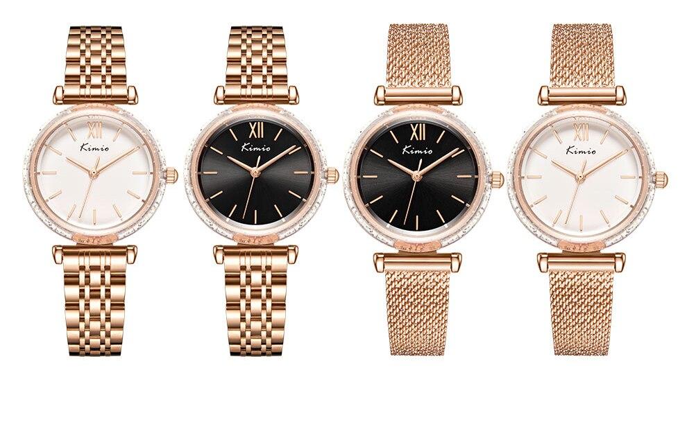 inoxidável relógios moda à prova dwaterproof água relógio de pulso