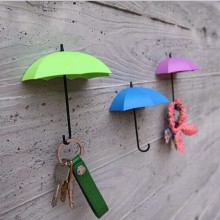 Поставка напрямую от производителя Креативный зонтик «сделай сам» сильный крюк для хранения украшения дома настенные наклейки крюк