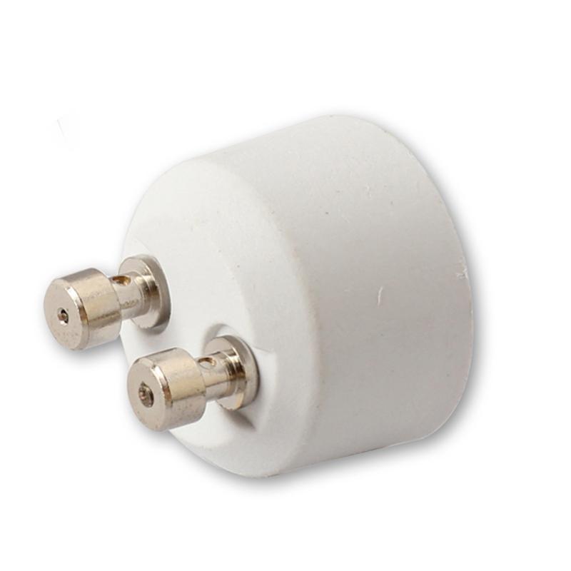 White GU10 To MR16 Socket Base Halogen Light Bulb Lamp Adapter Converter High Temperature Resistance Conversion Lamp Holder