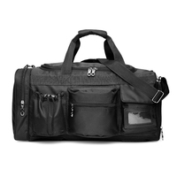 TOMSHOO 35L Sports Gym Bag Sac De Sport Men Women Duffel Bags with Shoes Compartment for Training Sport Business Travel Camping