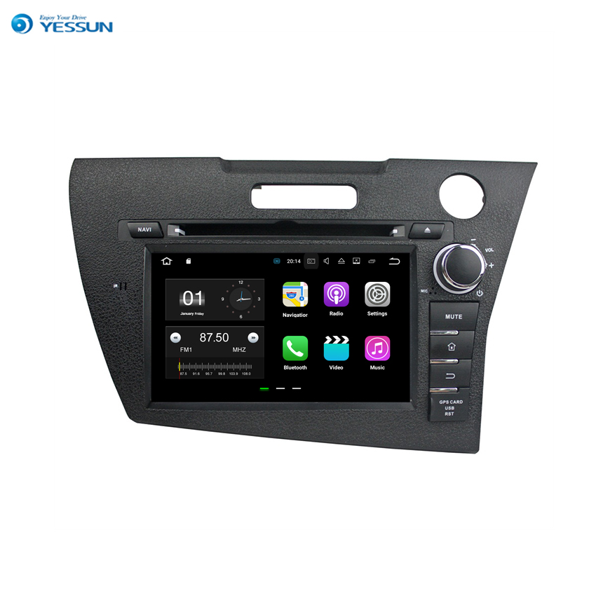 YESSUN Android Car Navigation <font><b>GPS</b></font> For <font><b>Honda</b></font> <font><b>CRZ</b></font> 2013 Audio Video Stereo HD Touch Screen Multimedia Player. image