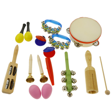 16pcs Musical Instruments Toy Set for Toddler, Preschool  and Children, 10 Kinds