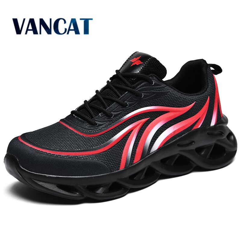 2020 New Spring Lightweight Men Shoes Outdoors Thick Sole Sneakers Breathable Casual Shoes Comfortable Male Walking Footwear