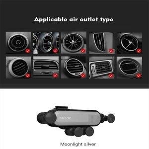 Image 5 - Oto araba kaymaz Mat yerçekimi telefon araba için araç tutucu hava firar sabitleme kıskacı cep telefon tutucu GPS standı araba aksesuarları TSLM2