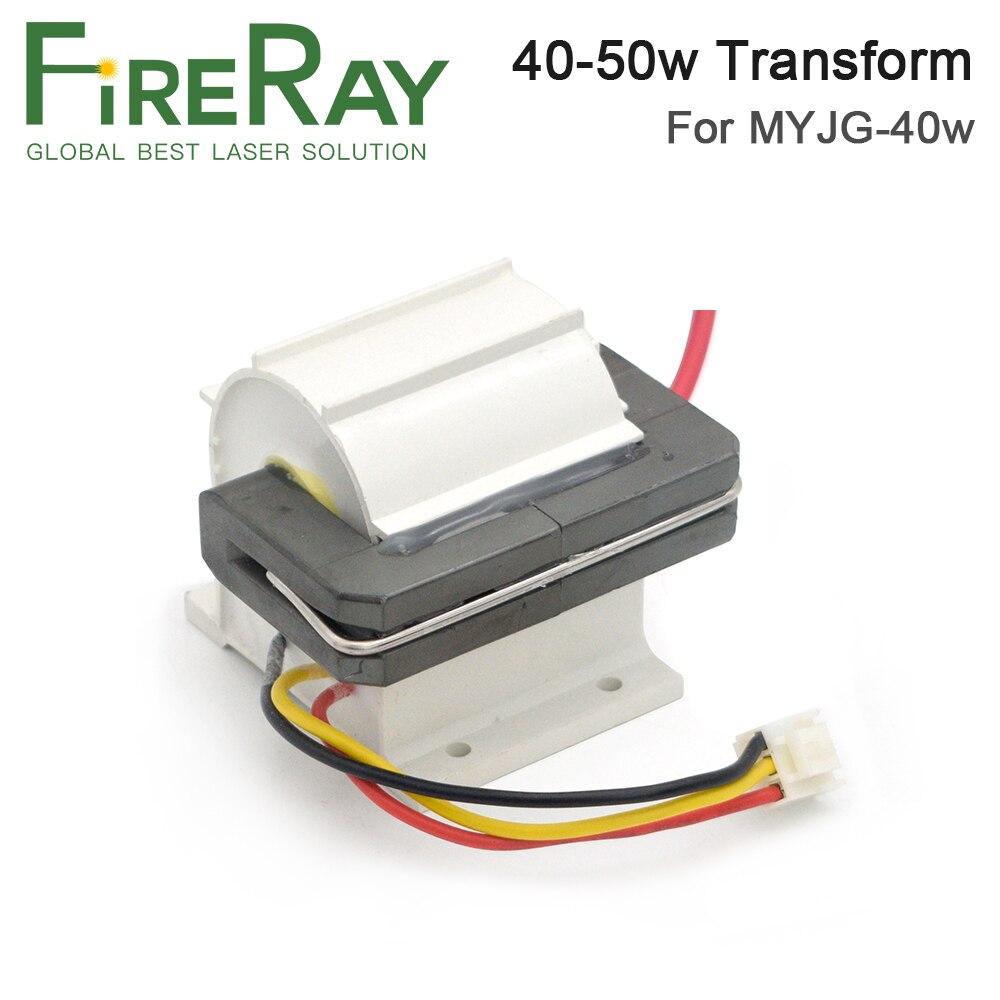 FireRay 40-50 Вт высоковольтный трансформатор Flyback, модель A для CO2 лазерного блока питания PSU MYJG-40 50