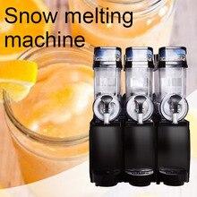 Трехцилиндровая большая емкость Снежная грязевая машина коммерческий многофункциональный Автомат для подачи холодных напитков машина для таяния снега