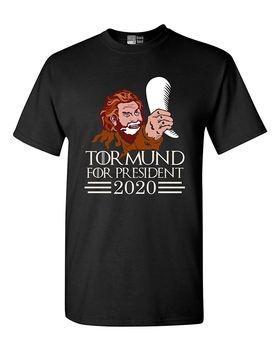 Playa abierta Tormund para Presidente 2020 TV divertido DT para adultos Camiseta Tee