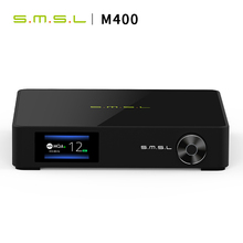 цена на SMSL M400 MQA DAC AK4499 Full Balanced aptX-HD Bluetooth5.0 USB DSD Decoder