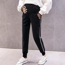 Poungdudu штаны для беременных женщин 2020 зимние леггинсы брюки