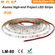 3528 60LEDs/m HA CONDOTTO LA Striscia, IP20,DC12V/24V 4.8 W/m 5m,300 led/Reel,Non-impermeabile per la vita interna camera da letto Studyroom(China)