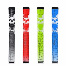 Buy New Skull & Spider Pistol GTR 2.0 Golf Putter Grip 3 Colors For Choice PU Leather Golf Clubs directly from merchant!