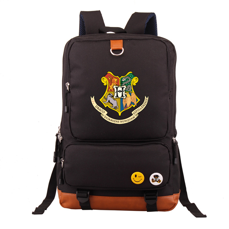 Harry Potter Related Backpack Teenager Casual Sports Backpack Men's And Women's Student School Bag