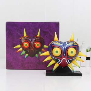 Image 2 - Legend of Zelda Majoras Mask Action Figure LED Light Link PVC Toy Doll Cosplay Accessory Prop Collection Decoration Xmas Gift