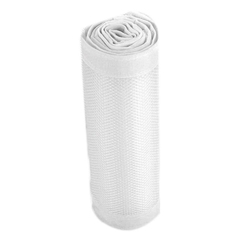 Baby Crib Bumper,Classic Breathable Mesh Crib Liner,2 Pieces/Set (White)