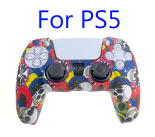 20PCS FOR PS5 Non slip Silicone Rubber Cover Case for PlayStation 5 Controller Dualsense Gamepads Skin Protection