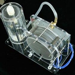 آلة المياه كهربائيا الزجاج التدفئة الهيدروجين والأكسجين المياه لحام رقيقة الهيدروجين الأكسجين لهب مولد تجربة المعدات